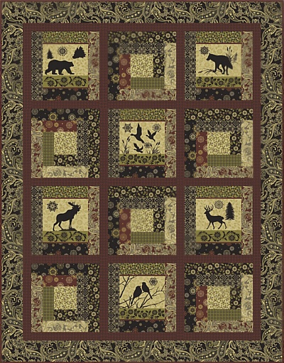 16 best images about Wildlife Quilting Fabric on Pinterest | Home ... : wildlife quilt fabric - Adamdwight.com