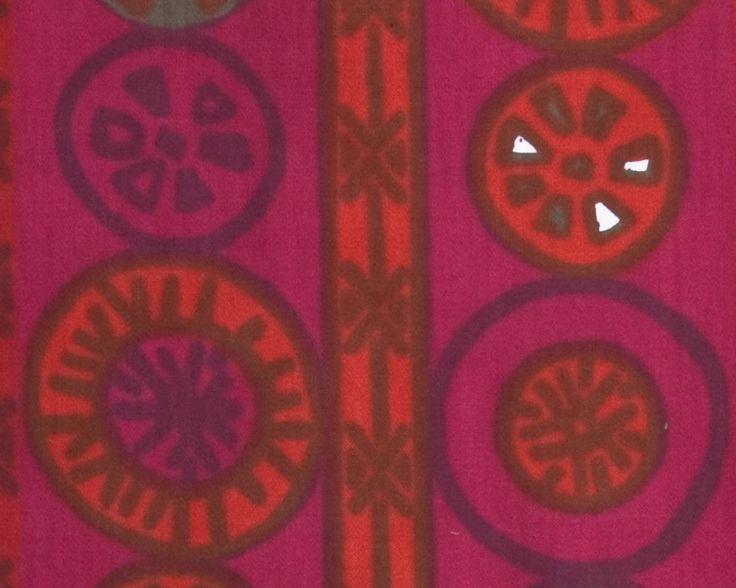 Kjersti Østbø. Stofftrykk. Mønster: Kina. Ca. 1960. (Foto: Mats Linder)