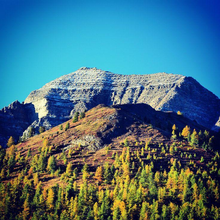 Un doux mélange d'Automne et d'Hiver... :-) #Vars #VarsFob #MyHautesAlpes #TourismePACA #Montagne #Automne