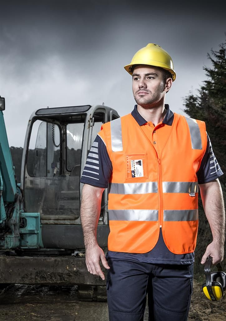Embroidery / Printing / Uniforms / Workwear / Hivis vest / activembroidery.com.au