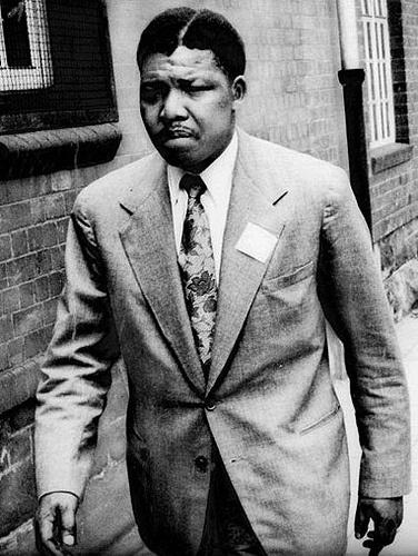 Nelson Mandela at 42 years