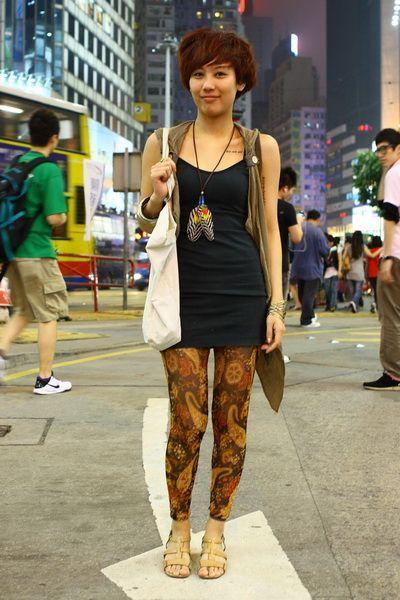 Paisley Print Leggings Hong Kong Hong Kong Street Style Pinterest Paisley Print