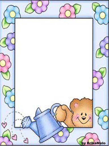 Bordes para ninos infantiles marcos decorativos car for Sticker decorativos para ninos
