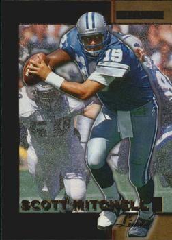 1996 Score Board NFL Lasers #53 Scott Mitchell - Detroit Lions.