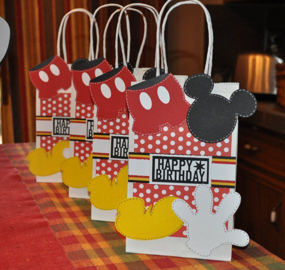 Birthday Gift Bag idea