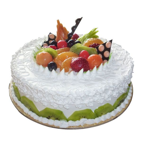Do you love nature? Would you like to show someone how much you love them with the help of nature? This cake caters exactly to that. Topped off with exotic fruits including kiwi, black grapes, oranges, cherries, etc. this cake is definitely for the nature lover. All delights accumulated for you in one place, your loved one will definitely appreciate your thoughtfulness! Say you love them with nature because, hey, nature speaks of all the good things in the world.