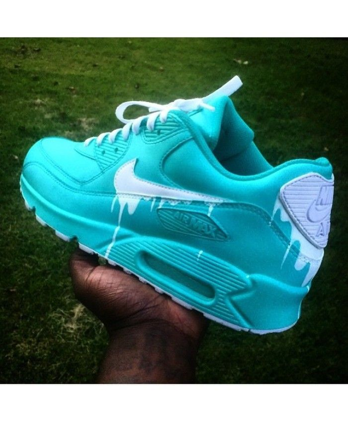 050c2f196a04 Chaussure Nike Air Max 90 Candy Drip Cyan UK
