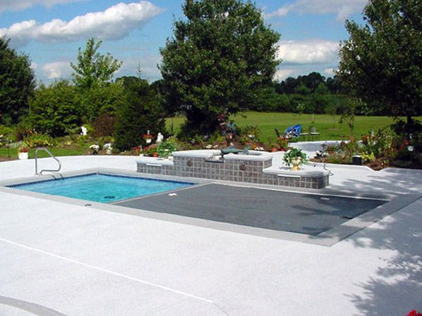 Automatic Pool Covers, Retractable Pool Covers by All-Safe