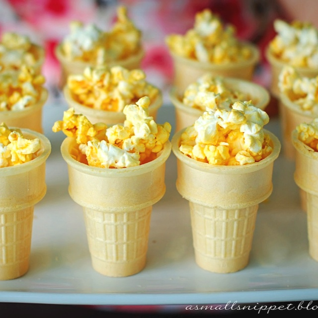 Popcorn Torches... Olympic Party?