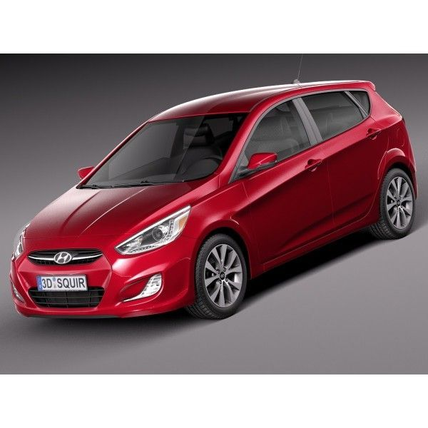 Cool Hyundai 2017: Hyundai Accent Hatchback 5-door 2015- 3D Model High Quality 3D Models / Vehicles (Cars, Trucks, SUV, Vans, Race, Industrial, Sport) Check more at http://carboard.pro/Cars-Gallery/2017/hyundai-2017-hyundai-accent-hatchback-5-door-2015-3d-model-high-quality-3d-models-vehicles-cars-trucks-suv-vans-race-industrial-sport/