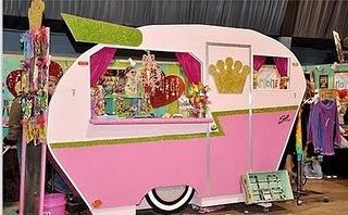 Cool caravan stall