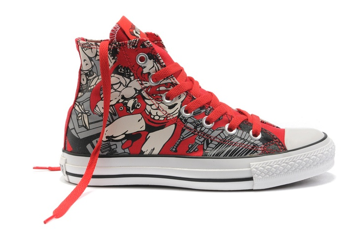 Converse Limited Edition, Red, Hi, Canvas, 122150