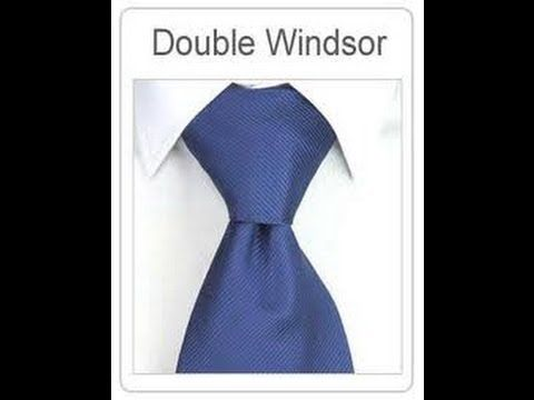 Como hacer un nudo de corbata elegante y fácil.How to tie a tie easy and elegant. - YouTube
