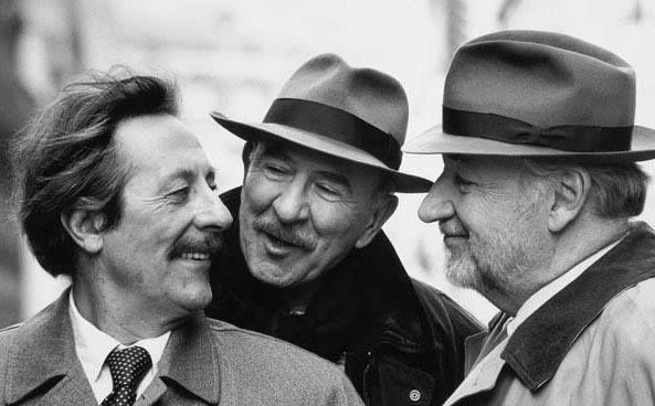 Jean Rochefort, Jean-Pierre Marielle & Philippe Noiret