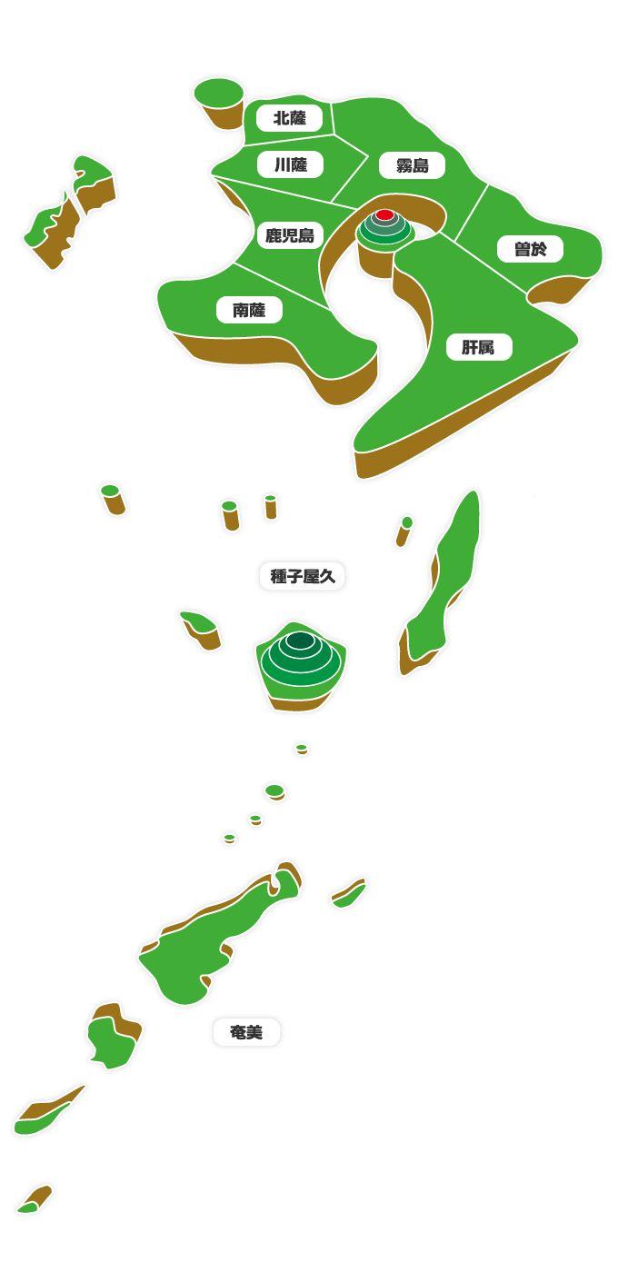 ボッケモンMAP -鹿児島ご当地キャラマップ-