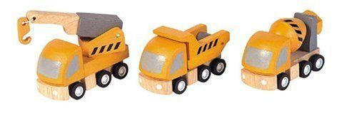 PlanToys Plan City Highway Maintenance Vehicle by Plan Toys. $22.50. From the Manufacturer                PlanToys Plan City vehicle accessories are built with play value in mind. The rubber detailed wheels roll right and will provide hours of fun.  Under the Green Concept Design PlanToys manufacturers utilizing a minimal waste concept. PlanToys long-term commitment to social programs promotes healthy child development and environmental protection.  All PlanToys are ...