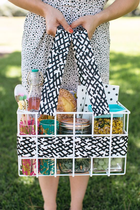 A Modern Picnic Basket To Celebrate With This Summer!