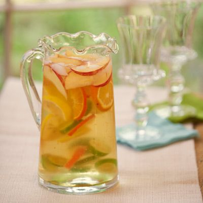 Summer Beerita in Willow House's Ruffle Glass Pitcher