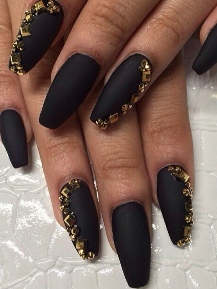 Perfect Black Nail Designs For Prom Ensign - Nail Art Ideas ...