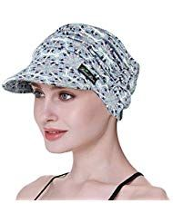 Weiche Hüte für Chemo Frauen Bambus Baseballmütze Haarausfall Turbans #Beauty # …