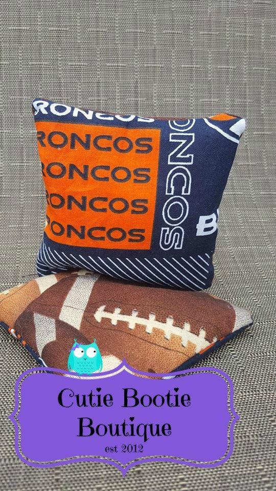 Denver Brocos football hot cold ouchie bag