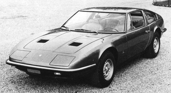 1969 Maserati Indy (Vignale) - Studios