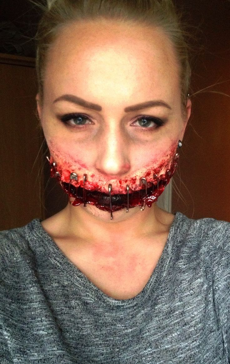 Halloween spfx makeup by me. Sfx special effects makeup artist sfx makeup