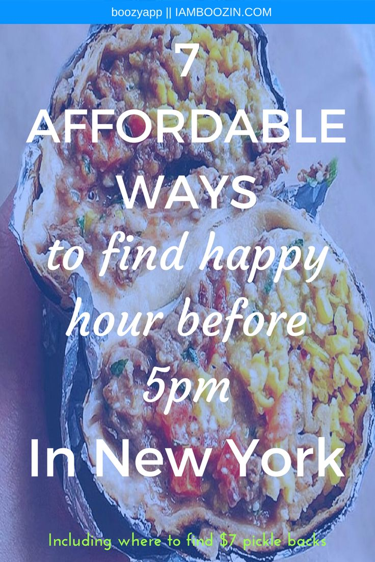 Happy Hour Midtown | 7 Affordable Ways To Find Happy Hour Before 5pm In New York [Including where to find $7 pickle backs]...Click through for more! Happy Hour New York New York Happy Hour NYC Happy Hour Happy Hour NYC