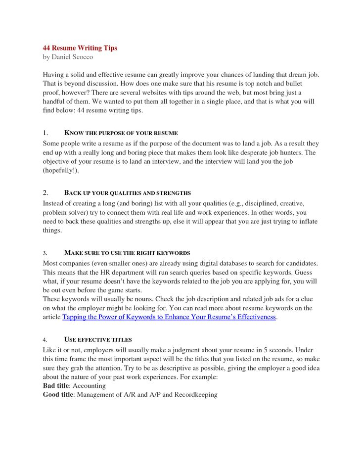 Custom resume writing 44