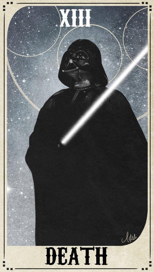 tarot cards star wars google search darth vader