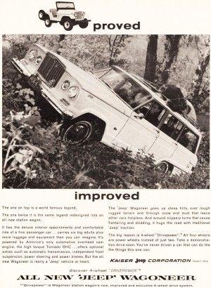 1963 Jeep Wagoneer advertisement