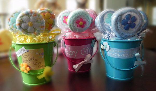 Best 25 Washcloth Lollipops Ideas On Pinterest Baby