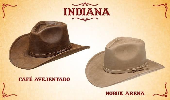 #Sombreros modelo indiana, café y arena