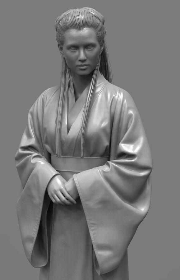 小龙女, Qi Sheng Luo on ArtStation at https://www.artstation.com/artwork/mWa9y