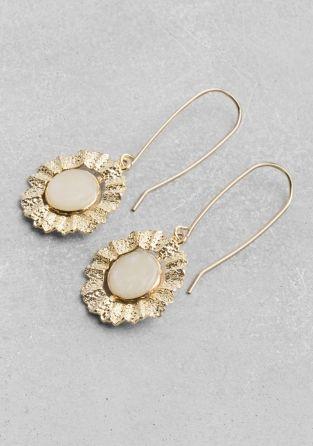 Swivel Stone Earrings &Other Stories