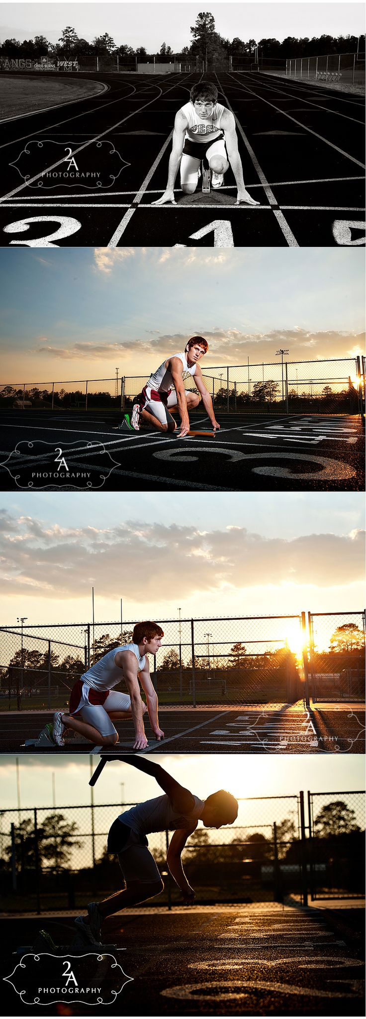Taylor - Senior Track Pictures