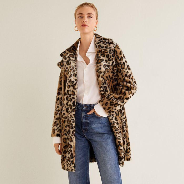 Mango Leopard Faux Fur Coat | Shopping List | Leopard fur