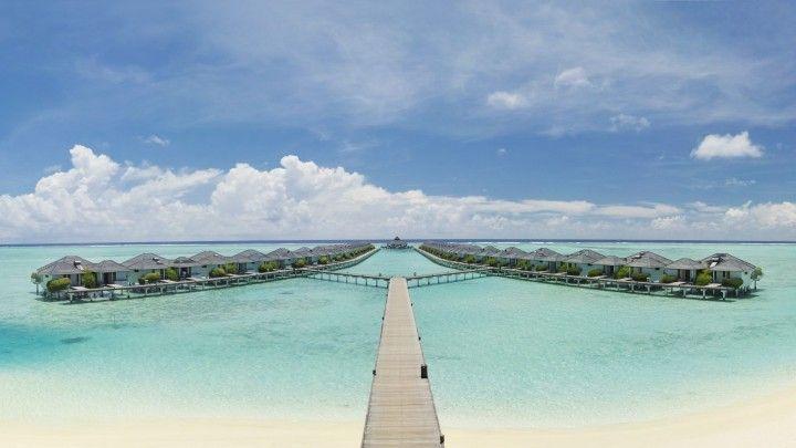 Sun Island Resort. Nalaguraidhoo Island, Maldives.
