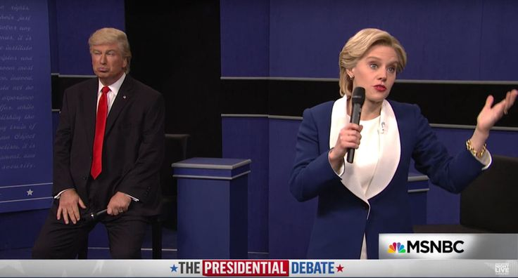 SNL's Spoof of the Town Hall Presidential Debate Is Perfect
