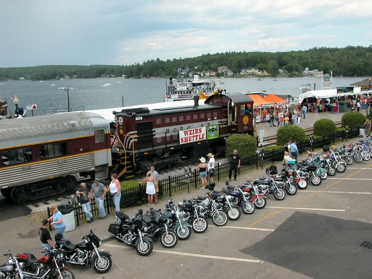 Laconia bike week weirs beach