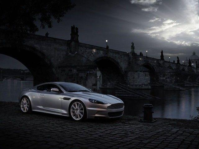 Black Aston Martin Dbs Wallpaper