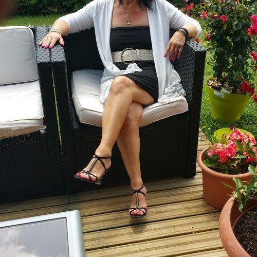 Sandales habillées talon transparent, jouez le contraste pour l'été avec les collections modes Fabulicious.