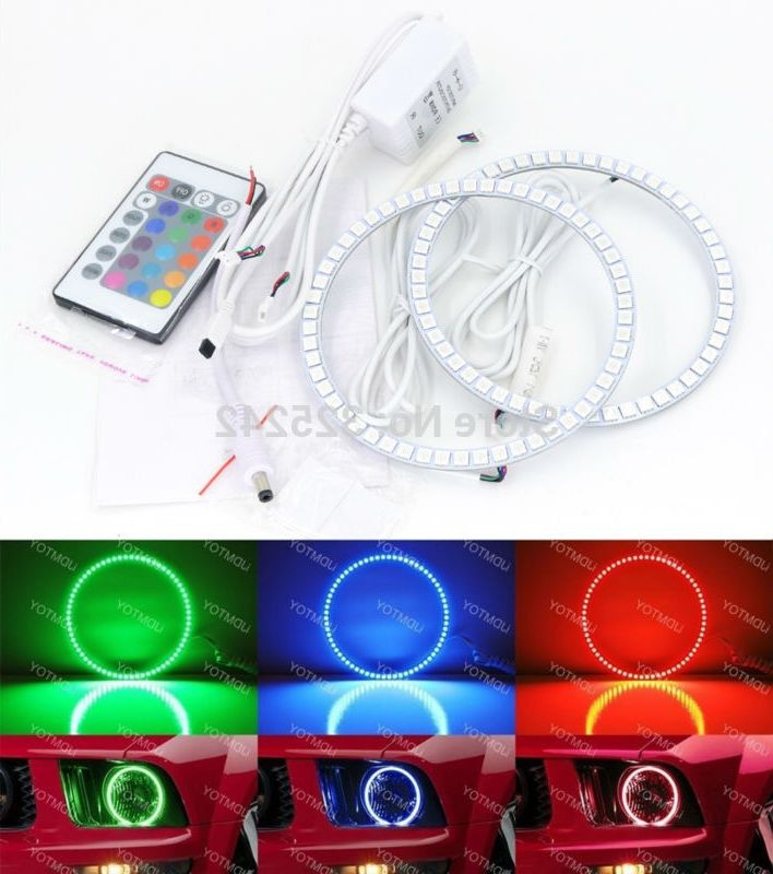 39.00$  Buy now - https://alitems.com/g/1e8d114494b01f4c715516525dc3e8/?i=5&ulp=https%3A%2F%2Fwww.aliexpress.com%2Fitem%2FFor-Ford-Mustang-w-Remote-2005-2006-2007-2008-2009-Excellent-RGB-LED-Angel-Eyes-kit%2F32438340182.html - For Ford Mustang 2005 2006 2007 2008 2009 Excellent RGB LED Angel Eyes kit Multi-Color Ultrabright angel eye Halo Rings