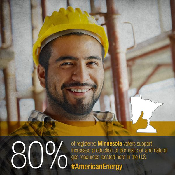POLL: Minnesota voters agree - It's time to invest in America's energy infrastructure.