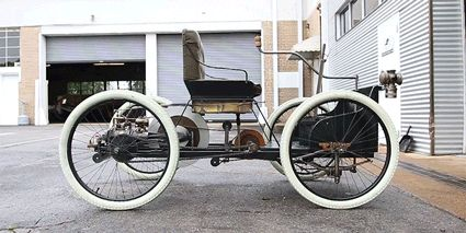 What It's Like to Drive Henry Ford's First Car  - RoadandTrack.com