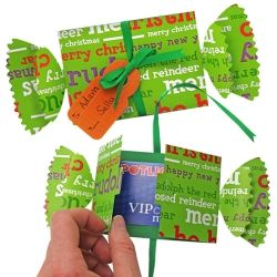 Throw that generic backing card in the bin & add lovin' to your gift voucher with some neat wrapping!