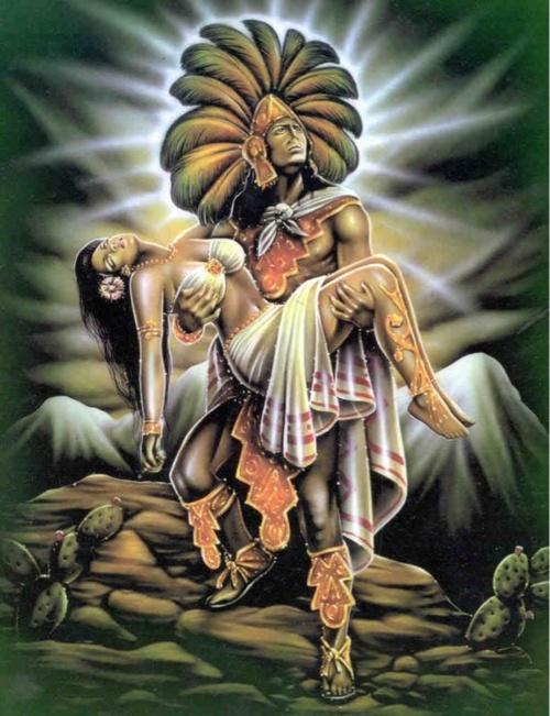 aztec and mexican pride | aztec worrior la mujer dormida mexican pride my culture herritage ...