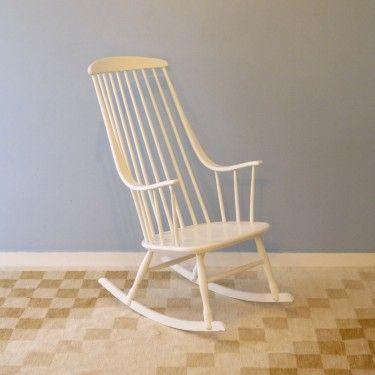 Rocking chair scandinave Lena Larsson