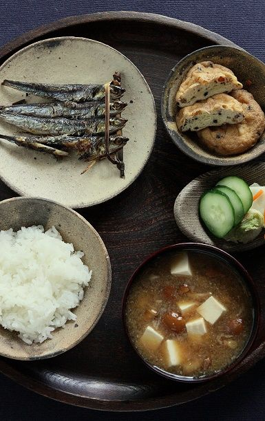Japanese ordinary breakfast