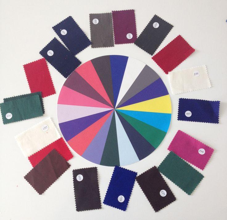 Kleurschijf Winter : leuk als decoratie of te gebruiken voor sorteeroefening